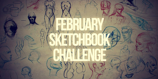 February Sketchbook Challenge