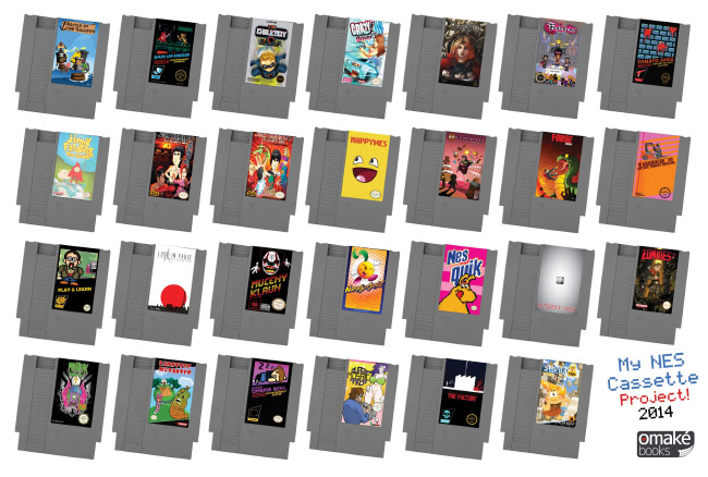 My NES Cassette Project 2014